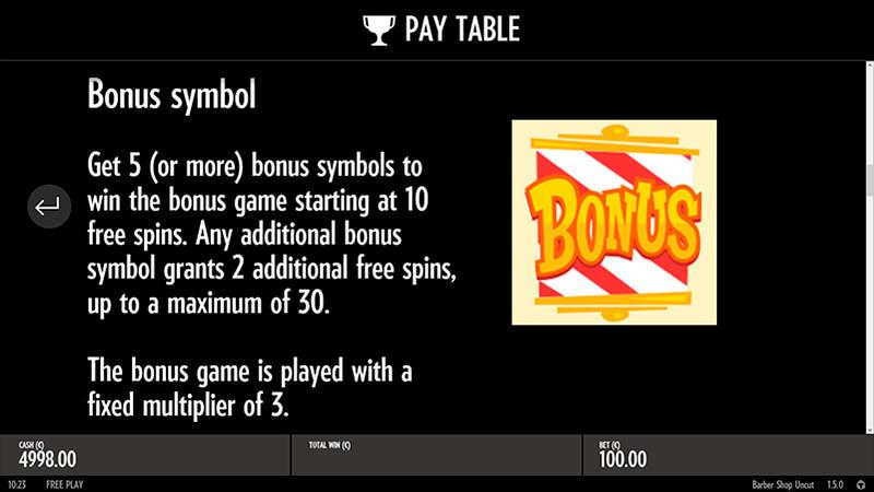 Изображение игрового автомата Barber Shop Uncut 3