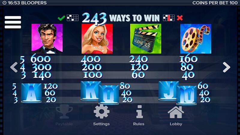 Изображение игрового автомата Bloopers 3