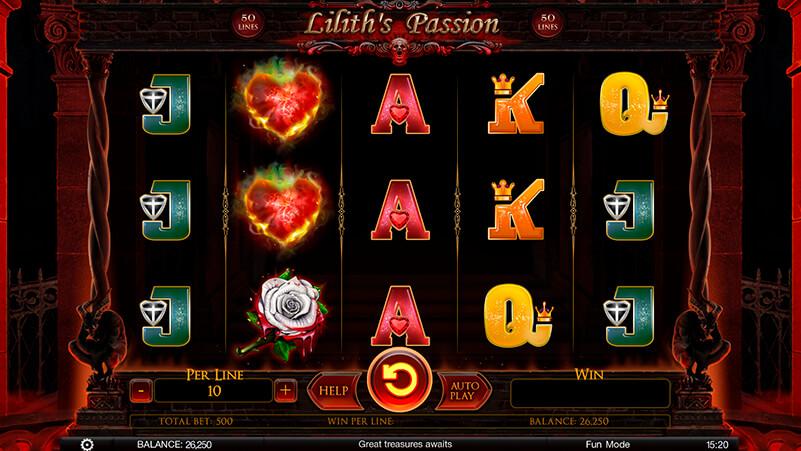 Изображение игрового автомата Lilith's Passion 1