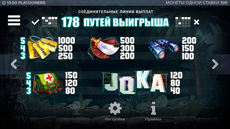 Изображение игрового автомата Platooners 4