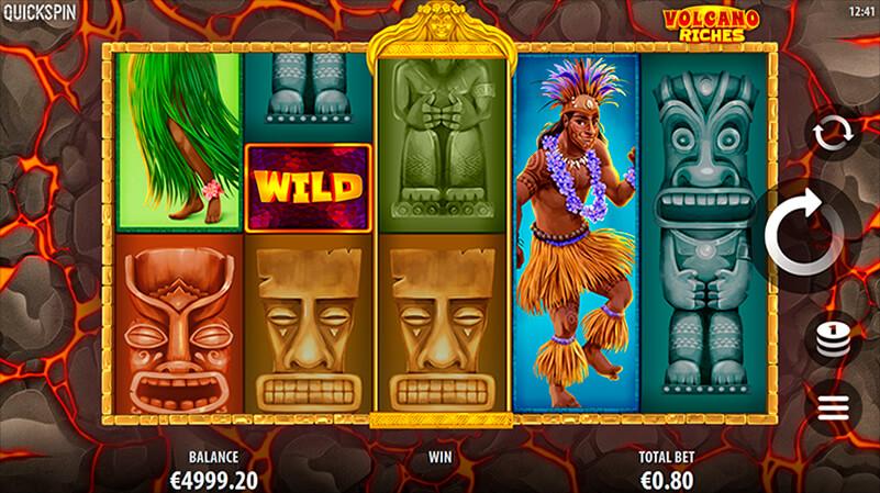 Изображение игрового автомата Volcano Riches 1