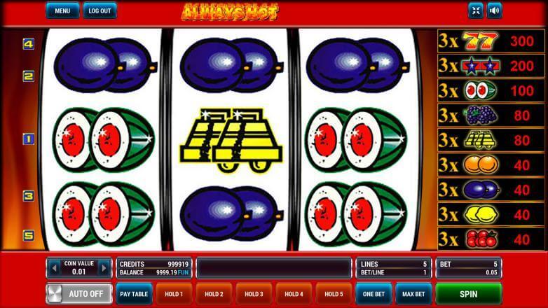 Изображение игрового автомата Always Hot 2