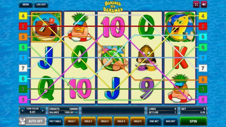 Изображение игрового автомата Bananas Go Bahamas 1