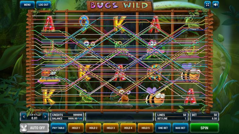Изображение игрового автомата Bugs Wild 1