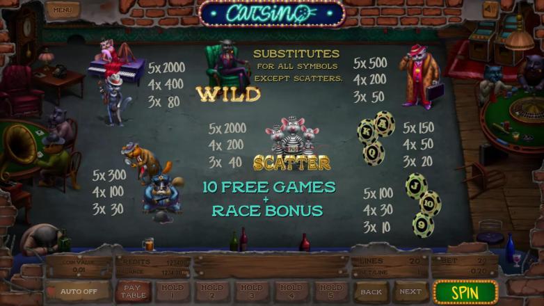 Изображение игрового автомата Catsino 3