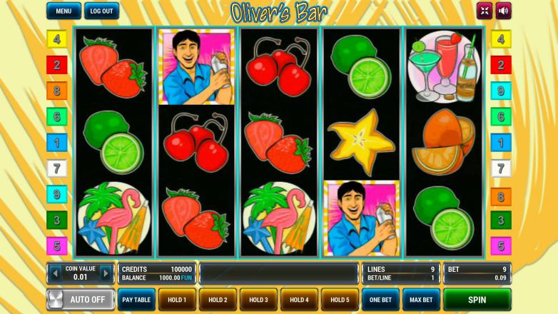 Изображение игрового автомата Oliver's Bar 2